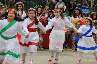 Erreka-Ortu cierra el popular carnaval de Retuerto con sus danzas tradicionales