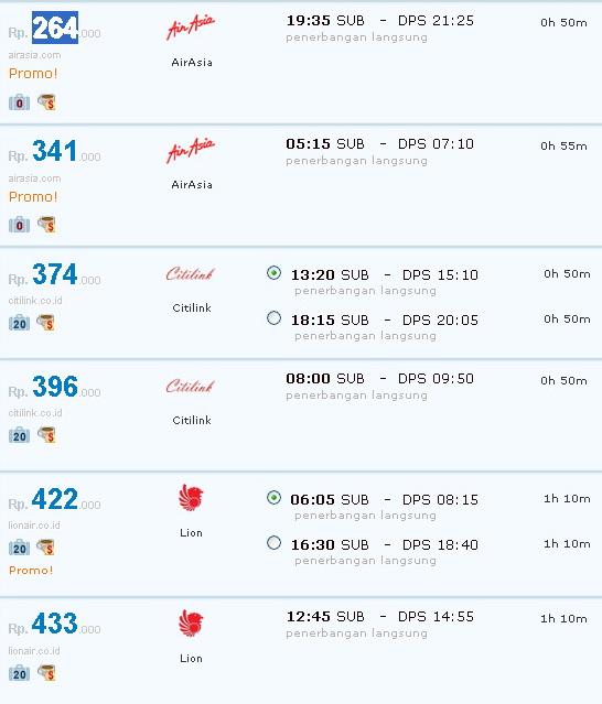 Tiket Pesawat Surabaya Ke Bali September Harga Tiket Tiket Murah Tiket Promo Tiket Pesawat Abctiket Com