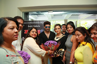 Bollywood Actress Sana Khan Launches Aakrithi Exibition  0406.JPG