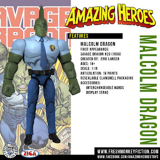 Fresh Monkey Fiction Amazing Heroes Reborn Action Figure Kickstarter