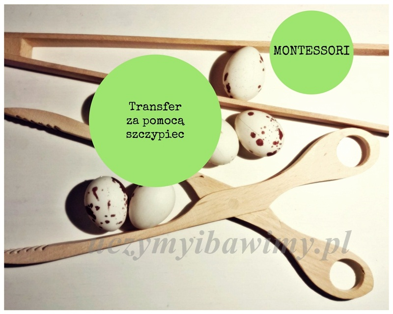 Metoda Montessori - szczypce