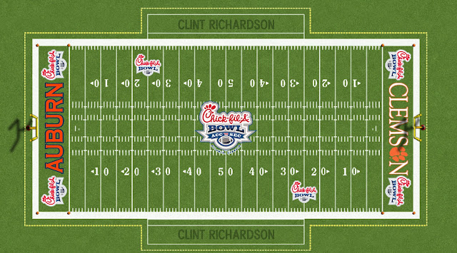 2007 auburn clemson chickfila peach bowl field