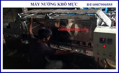 www.123nhanh.com: Máy cán dài khô mực, Máy cán mực quay tay, Máy nướng khô