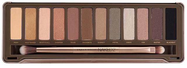 Naked2 paleta de sombras Urban Decay