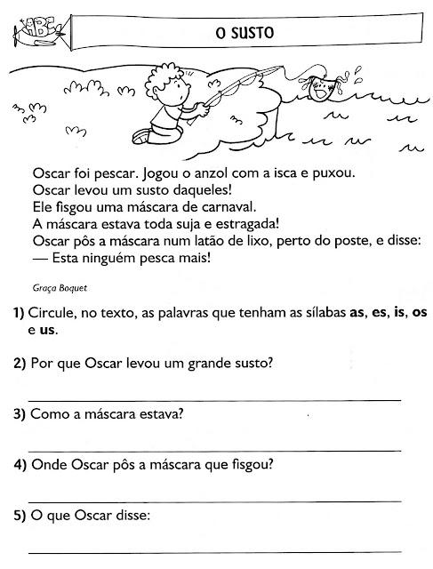 Interpretação de texto ensino fundamental