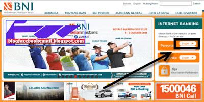 cara transfer rekening dengan BNI internet banking