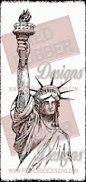 Liberty Rubber Stamp
