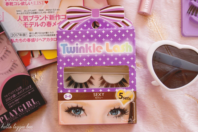 twinkle lash sexy eye, gyaru lashes