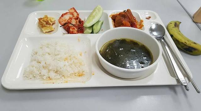 Bữa cơm công nhân Samsung 22.000 đồng, 0 đồng và 11.000 đồng
