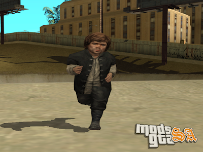 Skin Tyrion Lannister do Game Of Thrones para GTA San Andreas