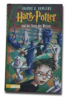 Harry Potter zagraniczne wydania - Niemcy - und der stein der weisen