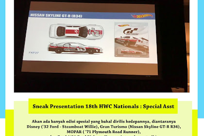 Sneak Presentation 18th HWC Nationals : Special Asst