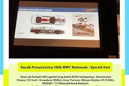 Sneak Presentation 18th HWC Nationals : Special Asst