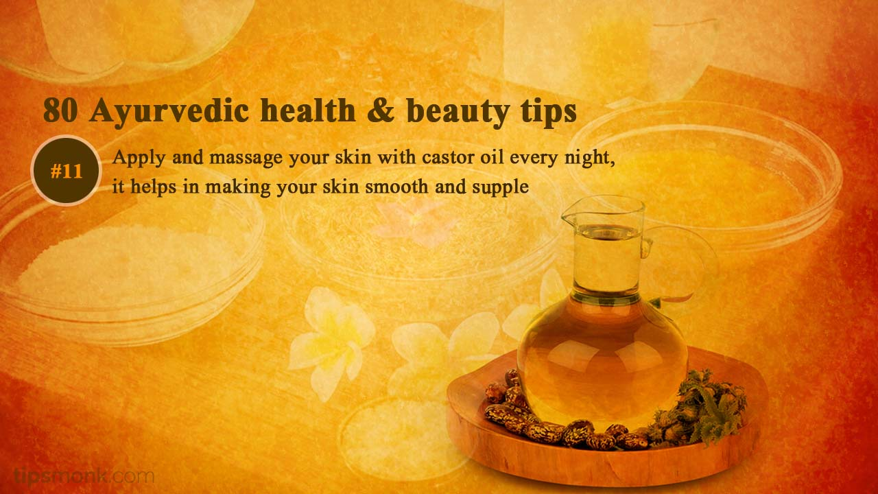 Ayurvedic beauty tips for smooth skin glow - Ayurveda home remedies, treatment image