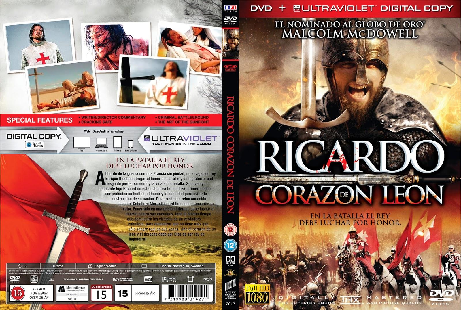 Movies World Richard The Lionheart Dvd
