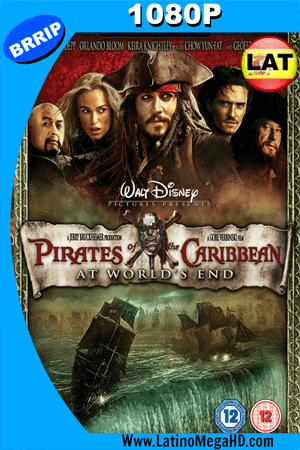 Piratas Del Caribe: En El Fin Del Mundo (2007) Latino HD 1080P ()