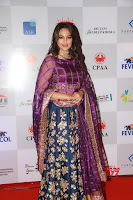 Sonakshi Sinha in Ghagra Choli at Mumbai Caring with Style~  Exclusive Galleries 003.jpg