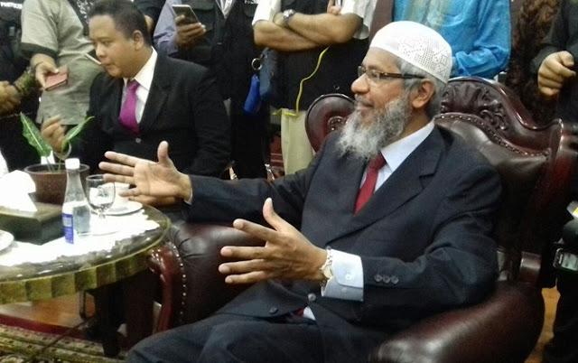 Kunjungi MUI, Dr Zakir Naik Beberkan Rahasia Menang Debat Lawan Pendeta