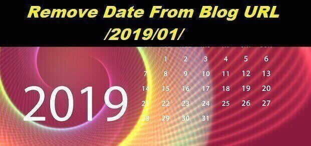 remove date on blog address