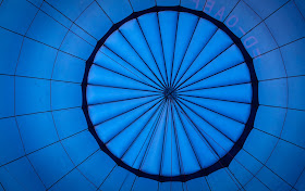 Hot-air ballooning in Transylvania, Romania