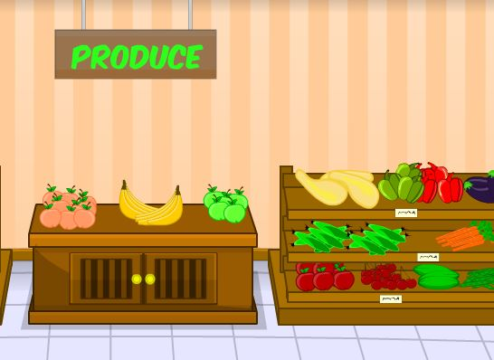MouseCity Toon Escape Grocery Store