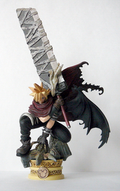 Final Fantasy Cloud And Sephiroth