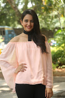 Rakul Preet Singh in lovely Pink Crop Top and Black Trousers at Jaya Janaki Nayaka success meet 070.JPG