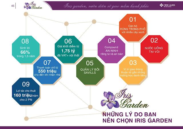 Bạn lựa chọn Iris Garden
