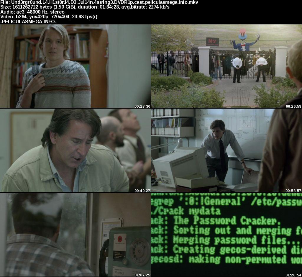 Descargar Underground: La historia de Julian Assange Castellano por MEGA.