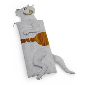 Sleeping is very healthy for you, especially in a Star Wars Tauntaun sleeping bag.
