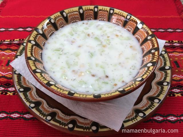 Tarator búlgaro receta