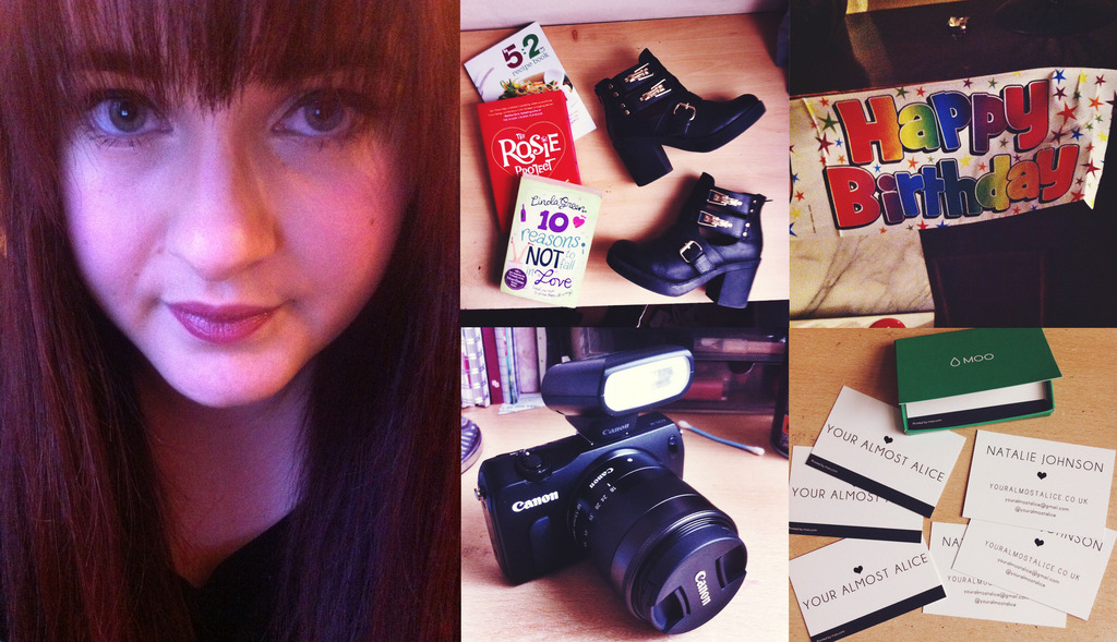 Life Lately #7 | Business Cards, Birthdays and a New Camera