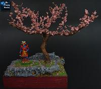 Samurai in the Cherry Blossom Land