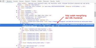 Mengatasi Related Post Tidak Muncul Pada Blogger HTTPS