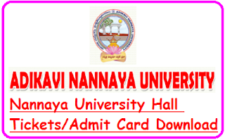 AKNU Hall Tickets 2019
