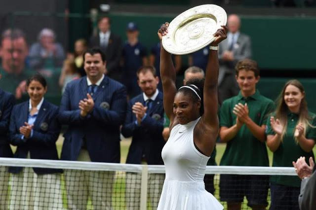 Serena Williams leva o sétimo título em Wimbledon - MichellHilton.com