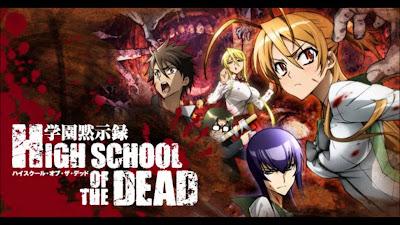 Highschool of the Dead BD Batch Sub Indo