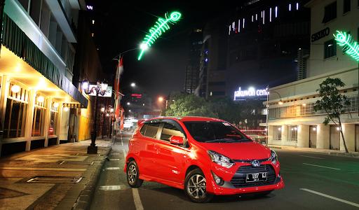 Test Drive Toyota Agya 1.2