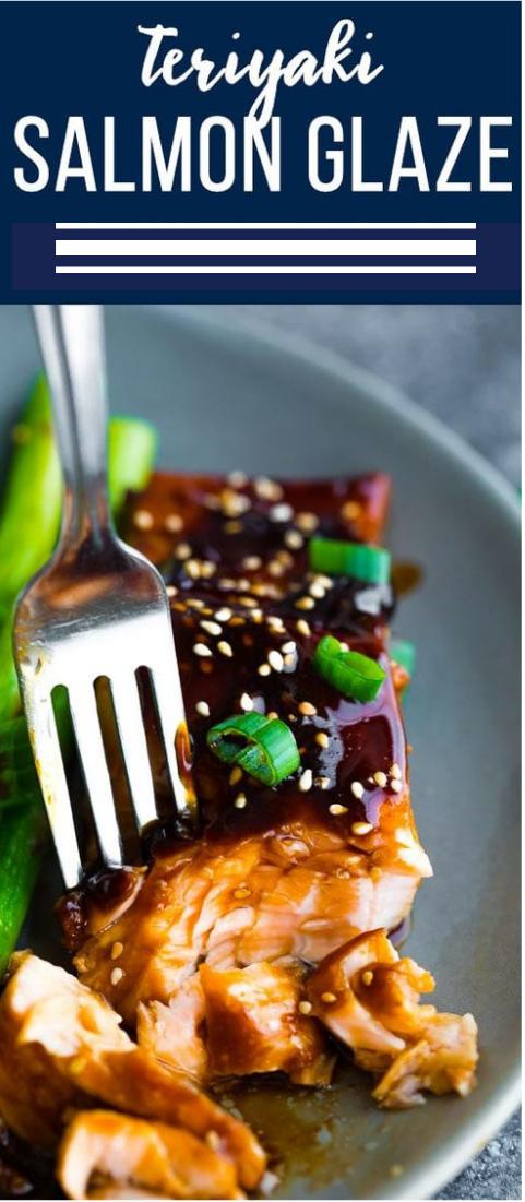 Teriyaki Salmon Glaze #salmon