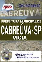 Cabreúva SP edital Concurso 2016