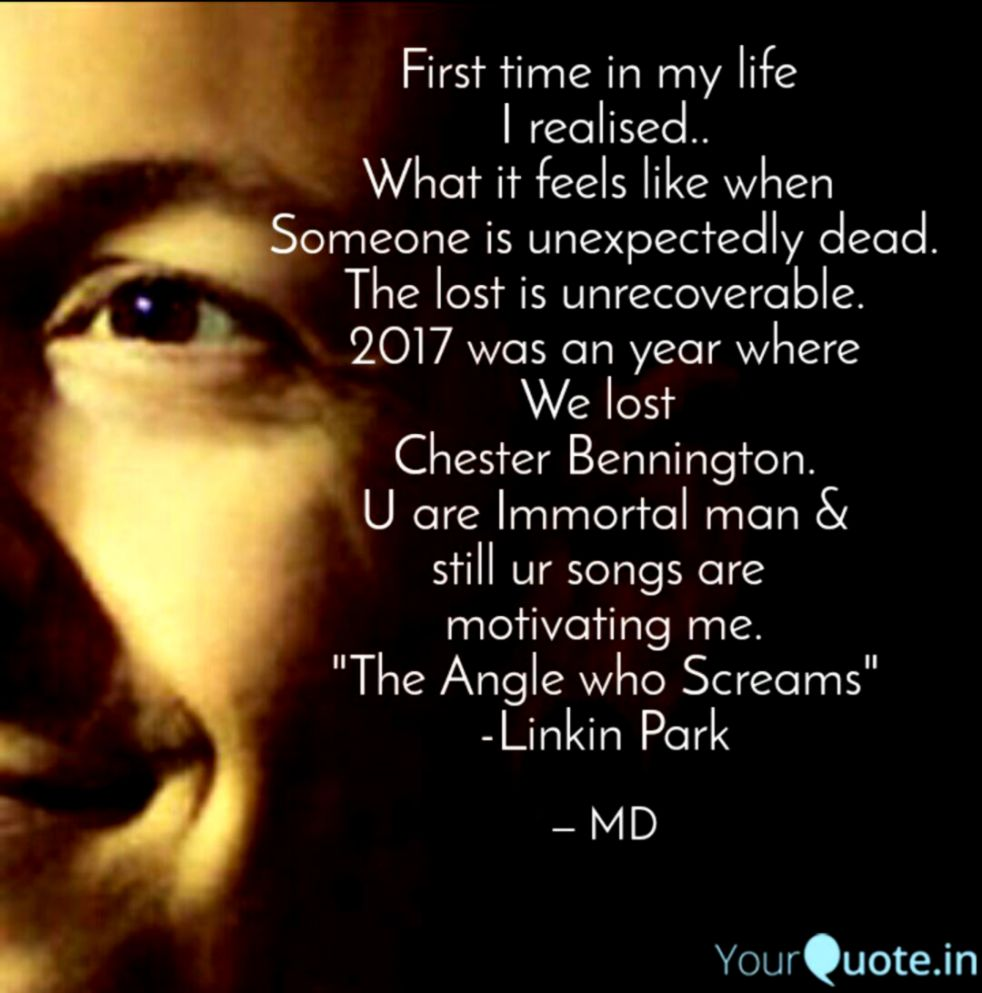 Linkin park quotes in the end
