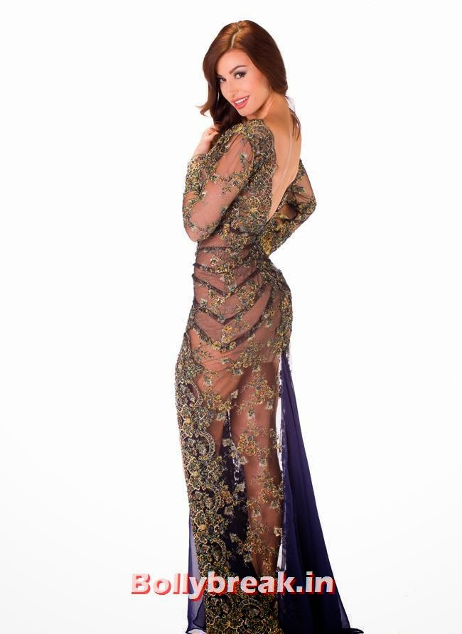 Miss Nicaragua, Miss Universe 2013 Evening Gowns Pics