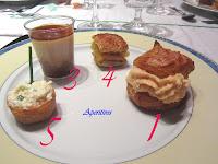 Menú Castanyada 2012. 5 aperitivos