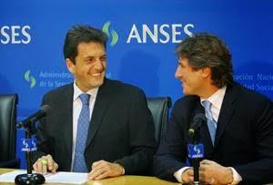 Anses - Sergio Massa y Amado Boudou
