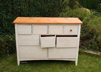 broken chest of drawers