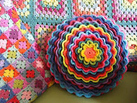 Blooming Flower Cushion