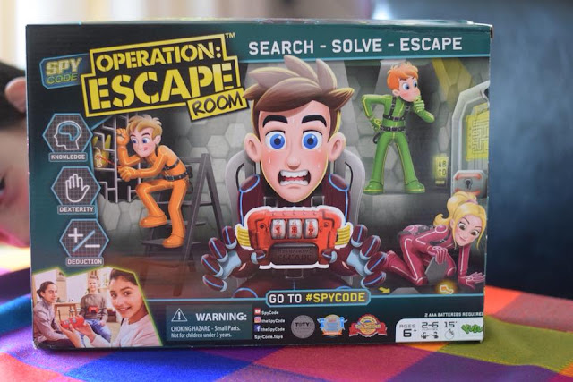 Spy Code Operation: Escape Room in box