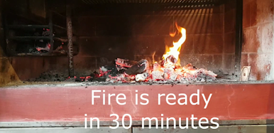 fire ready in 30 minutes