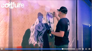 LivePainting voor KMS relaunch event