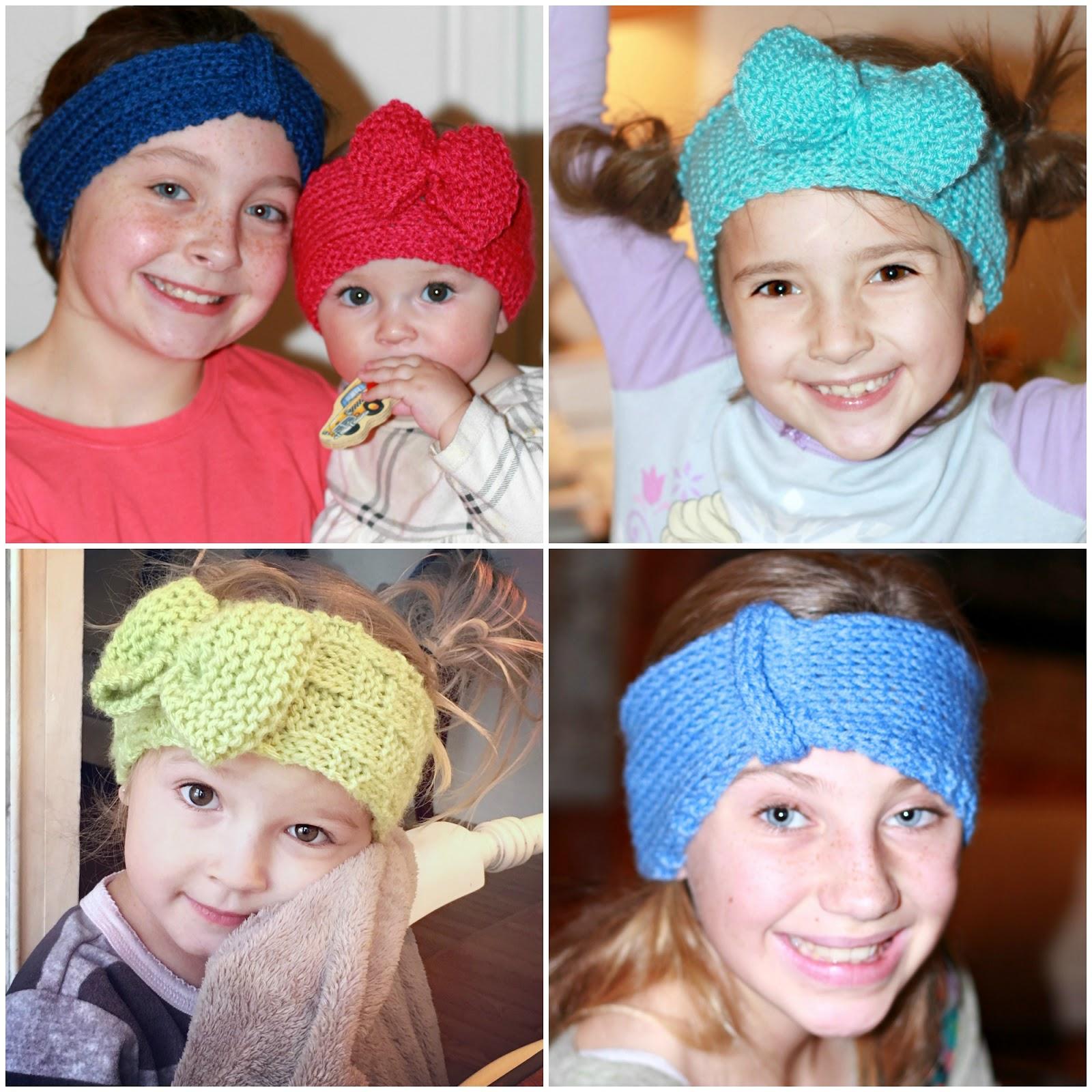 Knitted Headbands and Ear Warmers | Grateful Prayer | Thankful Heart